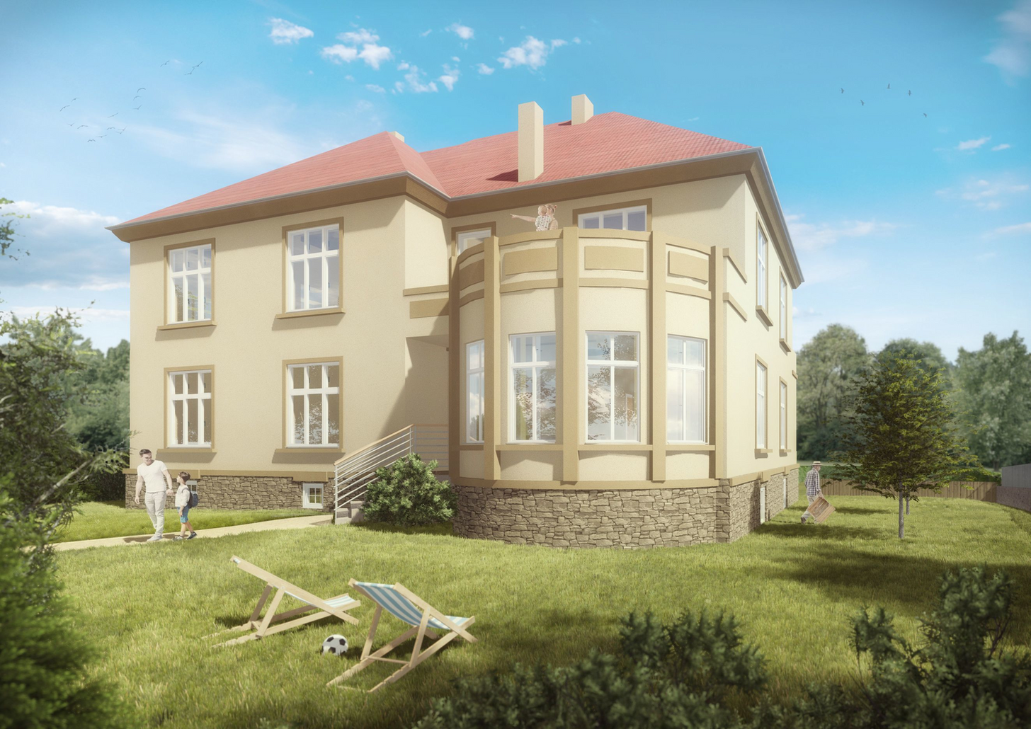 Rekonstrukce viladomu