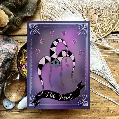 Tarot inspired stamp brushes