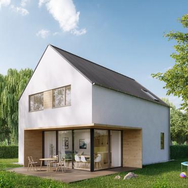 Typové domy, 2018, CZE