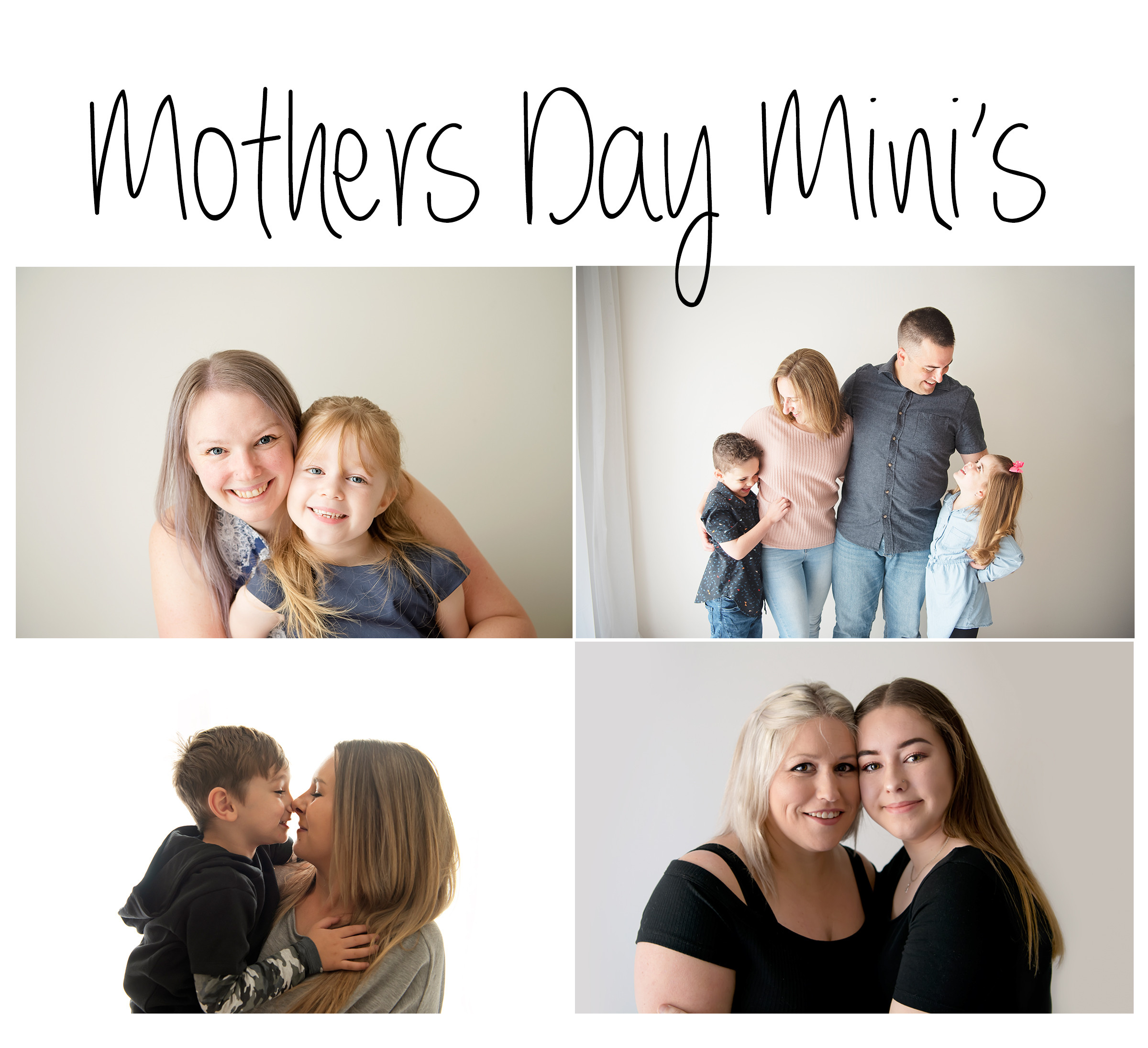 Mothers Day Mini Session's