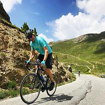 Cycling Passo Gavia Italy