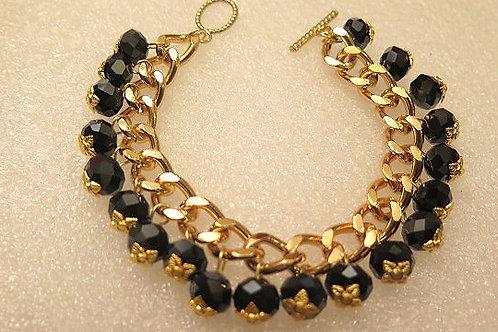 Reina Black Bracelet