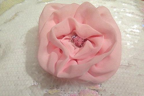 Pink Floral Brooch/Hair pieces