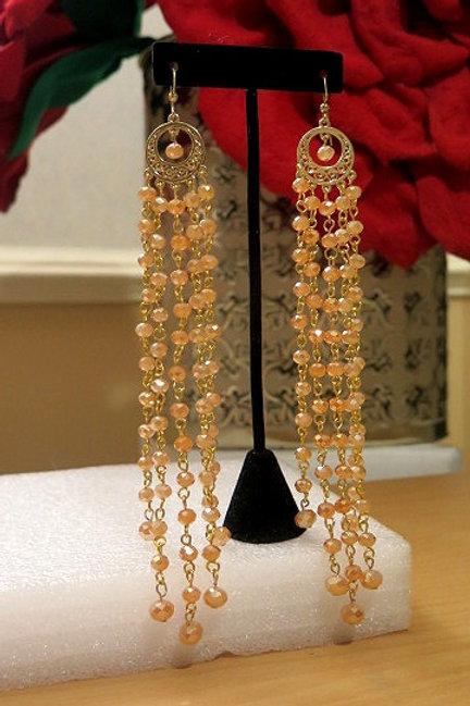 Brown Zelda Earrings