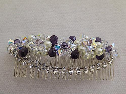 copy of Purple Bridal Comb