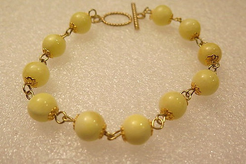 Leona Yellow Bracelet