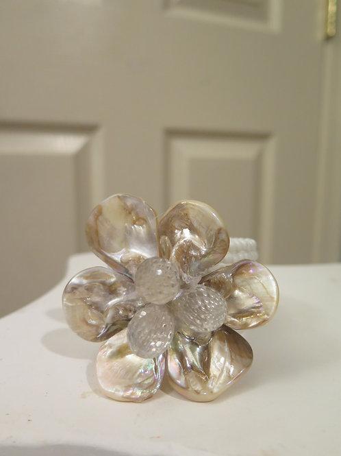 """""""Diore"""" White Bracelet"""