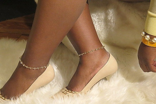 Clear Anklet