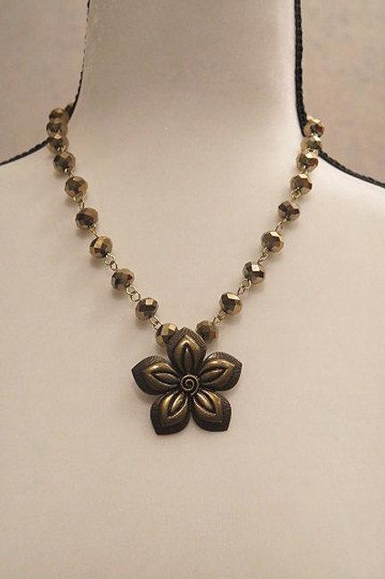 """Leona"" Gold Necklace"
