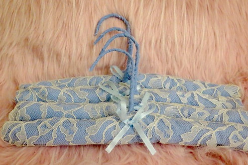 Blue Baby Hangers