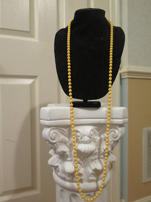 Yellow Long necklace