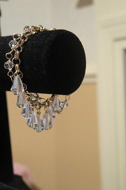 """Reina"" Clear Bracelet"