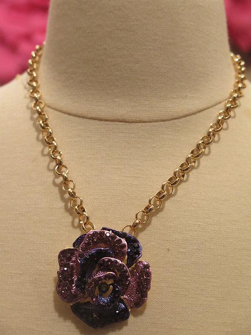'Princess' Purple Floral