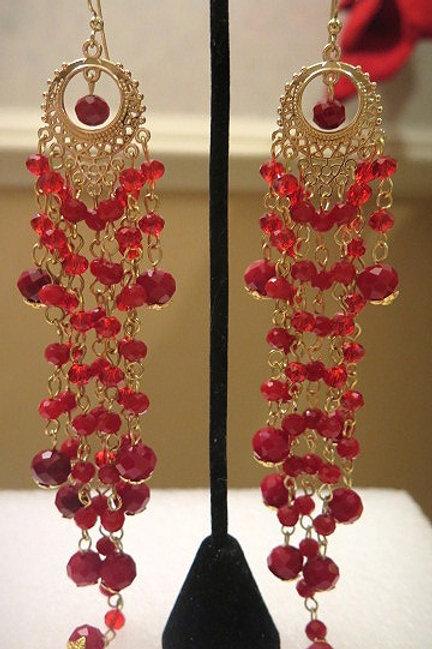 Red Zelda Earrings