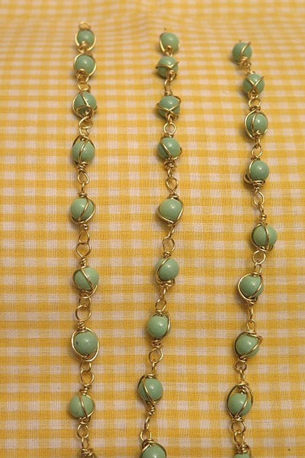 Loose Wire Wrap Beads