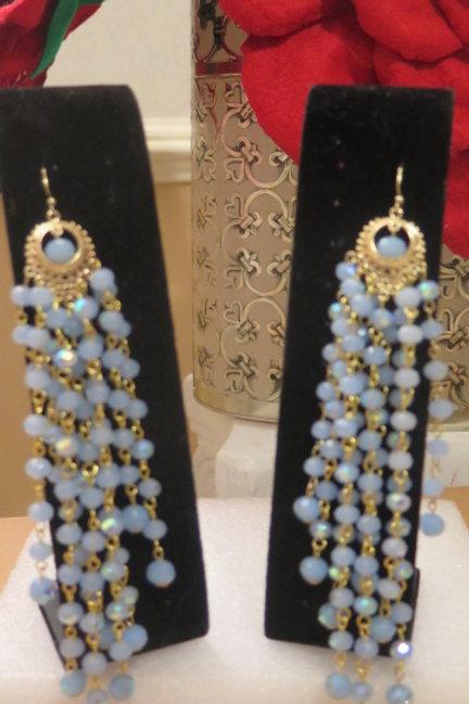 """""""Zelda"""" Blue Earrings"""