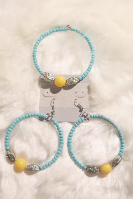 Earring & Bracelet Set