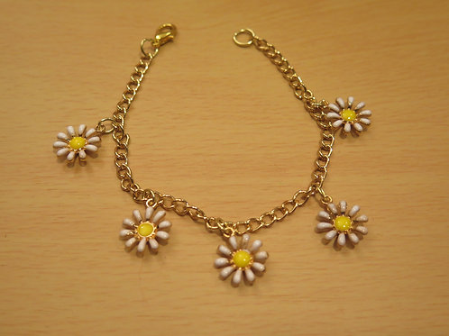 Sunburst Charm Bracelet
