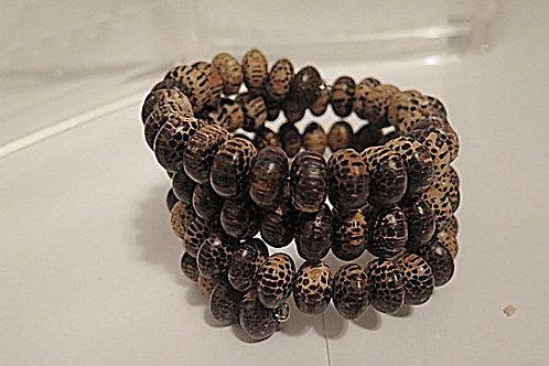 Wooden Wrap Bracelet