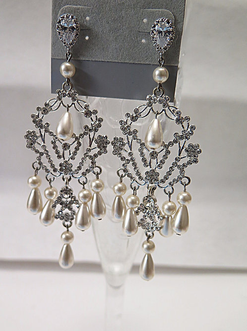 Bridal Chandelier Earring