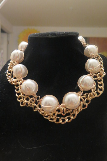 """Diva"" Pearl Necklace"