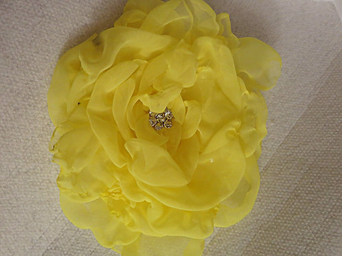 Yellow Brooch/Hair pin