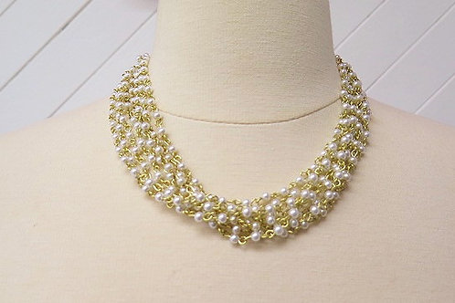 Pearl Multilayer Necklace