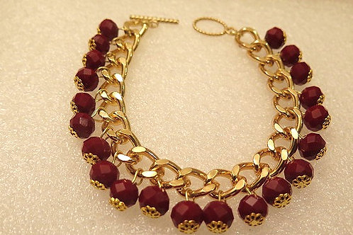 Reina Ruby Red Bracelet
