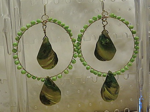 Leaf 'Ziva' Earrings