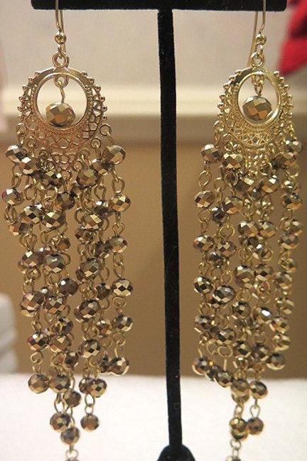 Gold Zelda Earrings