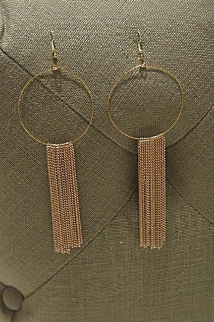"""""""Ziva"""" Fringes earring"""