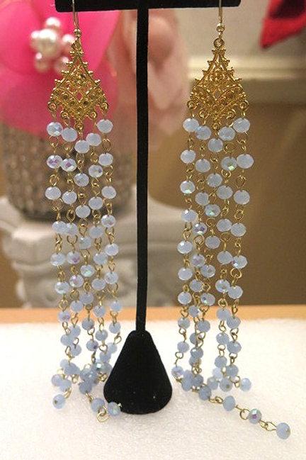 Blue Zelda Earrings