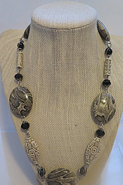 'Empress' Brown Tribal Necklace