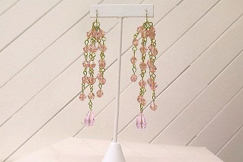 Pink Saskia Earring