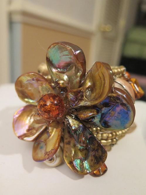 """""""Diore"""" Gold tone Bracelet"""