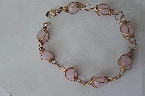 """Pink """"Parisian"""" Bracelet"""