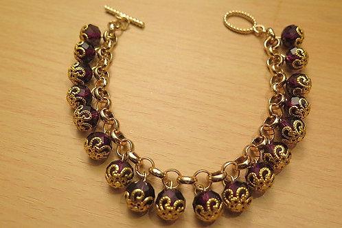 'Reina' Dark Purple