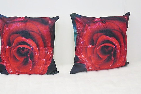 Red Decorative Pillow Cases