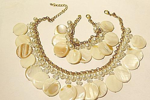 """Goddess"" Beads Jewelry set"
