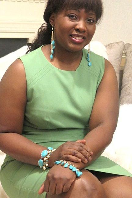 Saskia Turquoise Earring