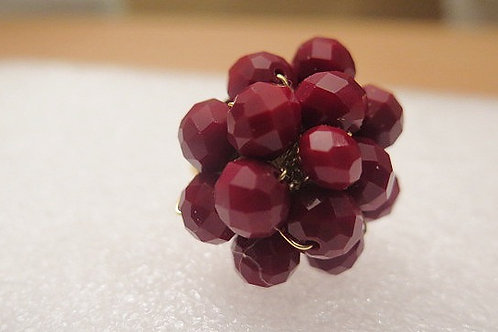 Red Cluster Ring