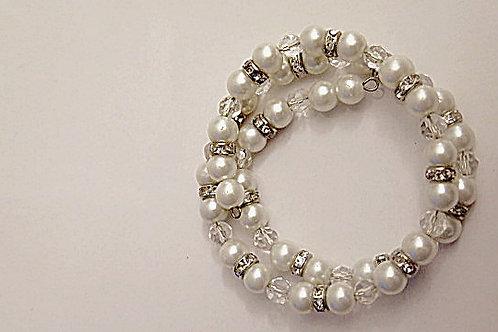 Bridal Wrap bracelet
