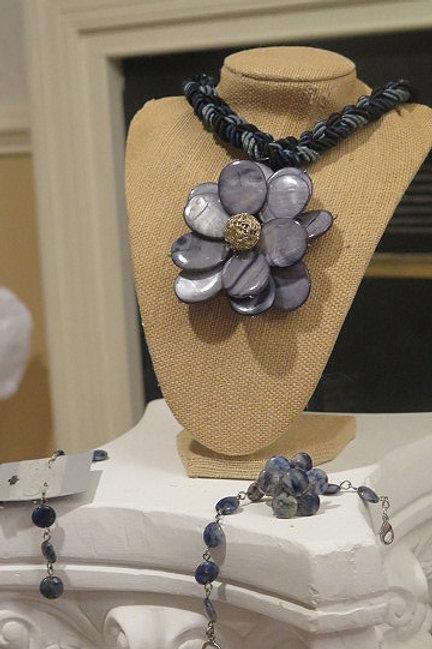 """""""Florette"""" Floral Jewelry Set"""