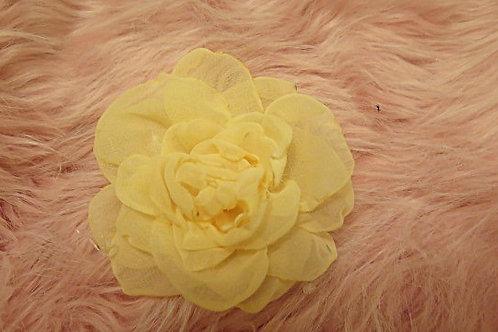 Yellow Flora Brooch
