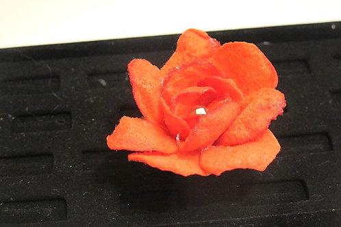 Orange Cocktail Flower Ring