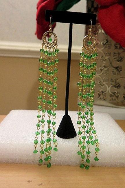 Zelda Green Earring