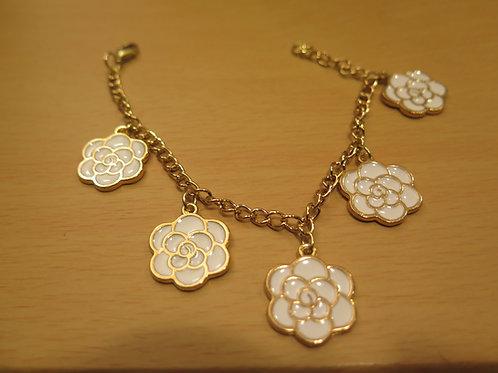 White charm bracelet