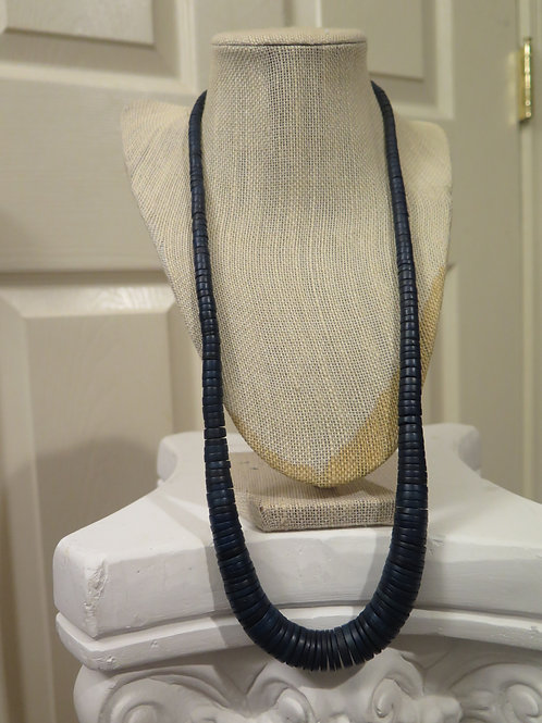 Blue Black Necklace