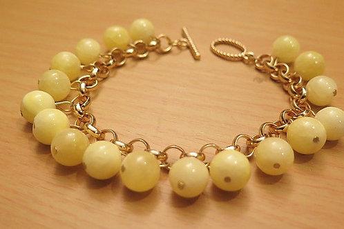 """Reina"" Yellow Bracelet"