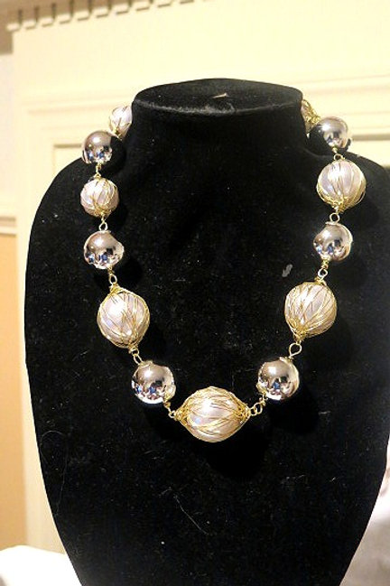 """""""Diva"""" Pearl Necklace"""